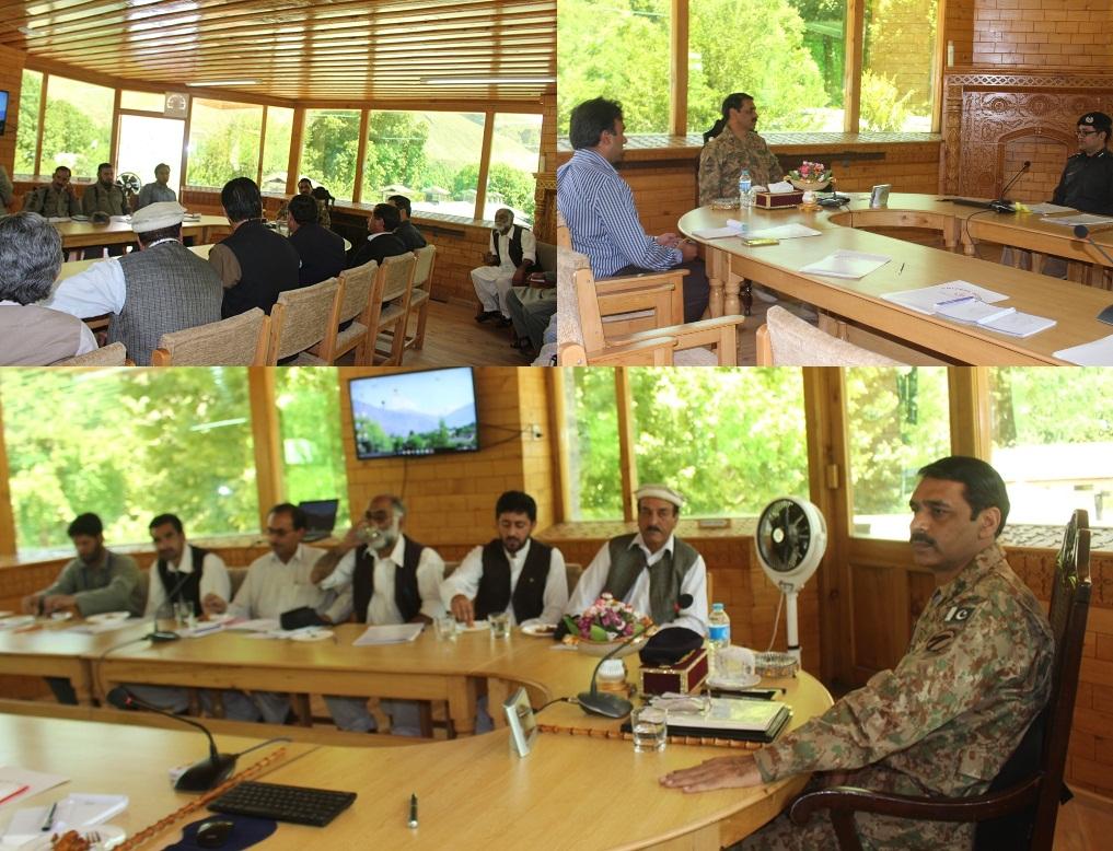 GOC last Meeting with Wing Comd, Media, Int & Comdt CTF (4)